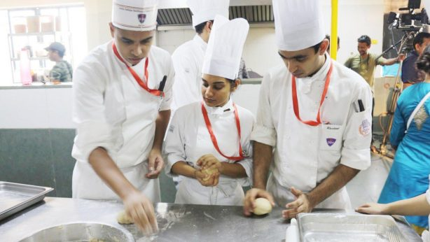 Chef Vikas Khanna Interacts with Students at Sheila Raheja Hotel and Catering School - 7th October 2019