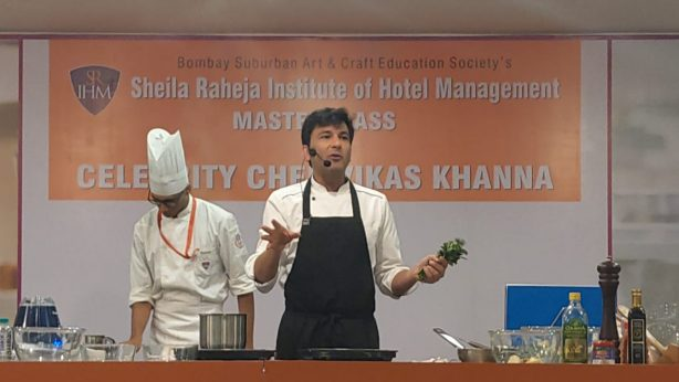 Masterclass By Chief Vikas Khanna on 13th December 2019